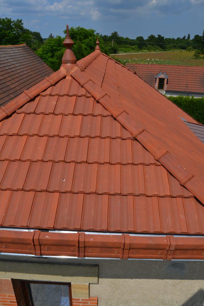 Réfection toiture - Barnichon - Couverture - Zinguerie - Poêle à bois